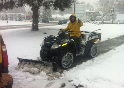 Snow Removal Services - Landscape Maintenance